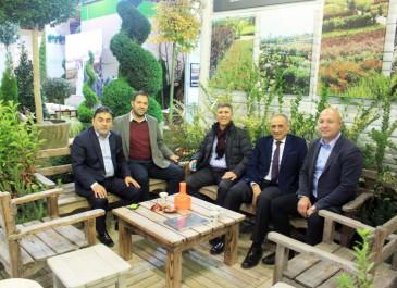 Ödemiş Belediye Başkanı  A.Mahmut BADEM ve İstanbul Eyüp Kaymakamı  Abdullah DÖLEK standımızı ziyaret edenler arasındaydı