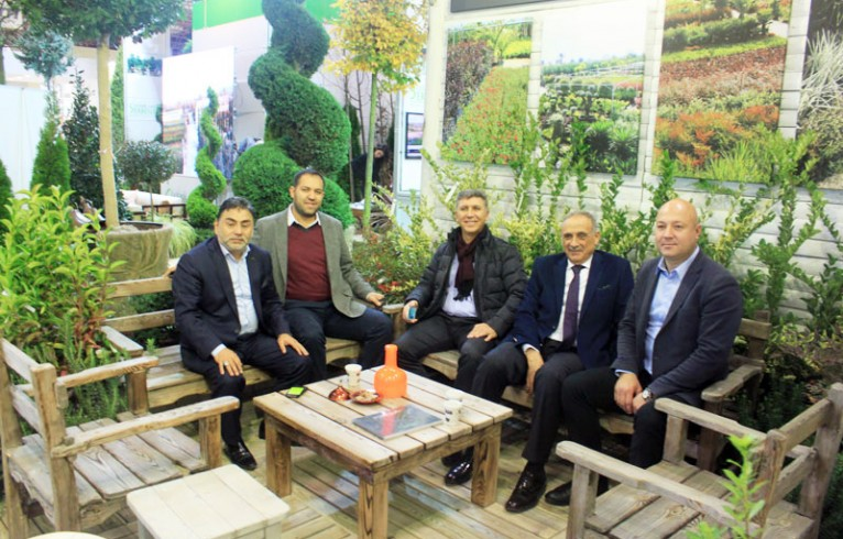 We exhibited 6th International İstanbul Ornamental Plants, Landscape and Sub-Industry Specialization Fair.